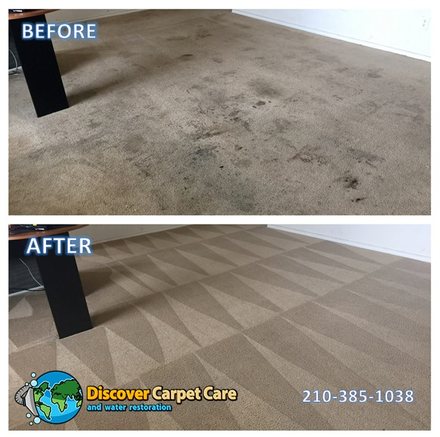 Carpet cleaning in San Antonio